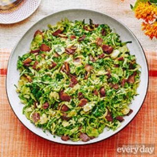 Fricassee of Brussels Sprouts & Bacon image