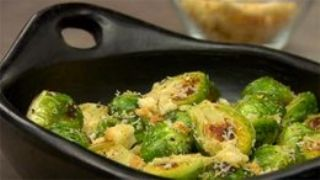 Roasted Brussels Sprouts with Lemony Herb Breadcrumbs image