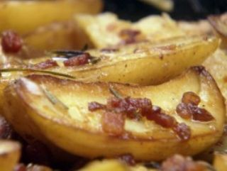 Bacon Roasted Potatoes image